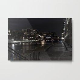 City River Metal Print