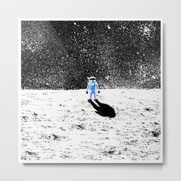 Man on the Moon Metal Print