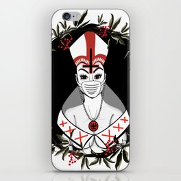 Beauty and the Priest iPhone Skin