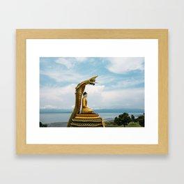 Myanmar – Naga on the Hillside Framed Art Print