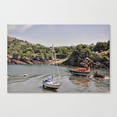 ilfracombe harbour Canvas Print