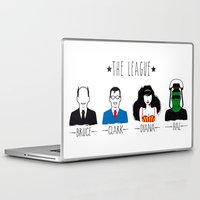 league Laptop & iPad Skins featuring THE LEAGUE by kravic