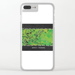 Guilty Pleasure Clear iPhone Case