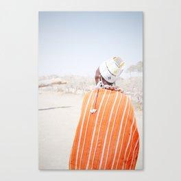 Maasai II Canvas Print