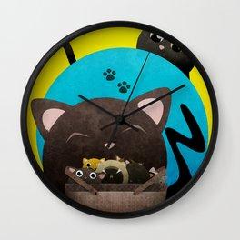 Mommacat Wall Clock