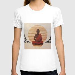 Buddha marquetry T-shirt