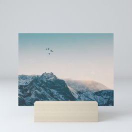 Evening Flight Mini Art Print