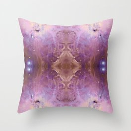 Purple Galaxy 003 Throw Pillow