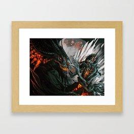 Tainted Affection Framed Art Print