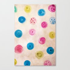 fingertips Canvas Print