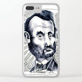 5 Dollar Bill & Buddie Clear iPhone Case