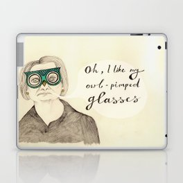 I Like My Owl-Pimped Glasses Laptop & iPad Skin