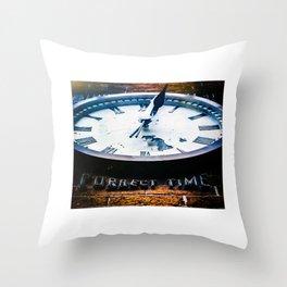 Correct Time Throw Pillow