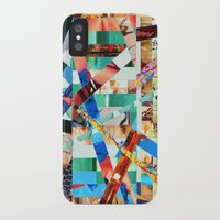 bianca green iPhone & iPod Cases featuring Bianca (stripes 22) by Wayne Edson Bryan