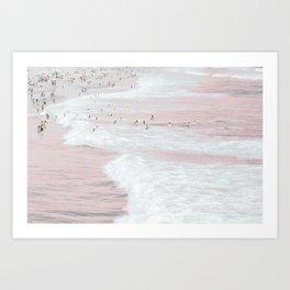 Summer Dip Art Print