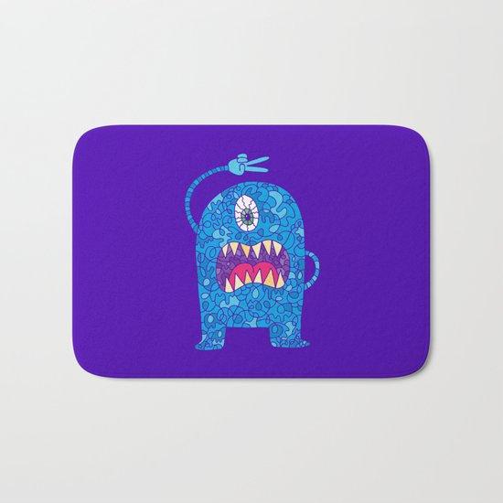 Peace Monster Bath Mat