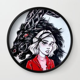 Join us, Sabrina Wall Clock