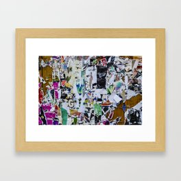 Little pieces Framed Art Print