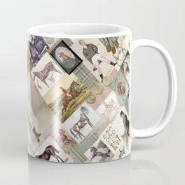 Vintage Equitation Coffee Mug