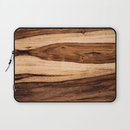 Sheesham Wood Grain Texture, Close Up Laptop Sleeve