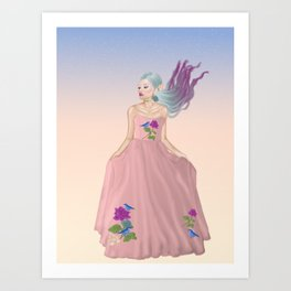 Blissful Spring Art Print