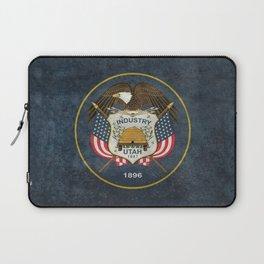 Utah State Flag, Vintage Version Laptop Sleeve