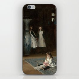 The Daughters of Edward Darley Boit by John Singer Sargent (1882) iPhone Skin