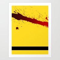 kill bill Art Prints featuring Kill Bill by Electric Avenue