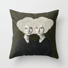 Orla and Olinda Throw Pillow