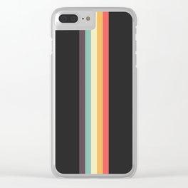 Retro Tipua Clear iPhone Case