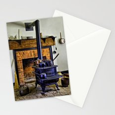 Wood Stove (Painted) Stationery Cards