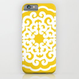 Jonquil Asian Moods Mandalla iPhone Case