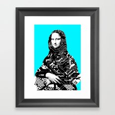 Mona Lisa Platina 4 Framed Art Print