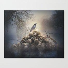 Dark Lake Canvas Print