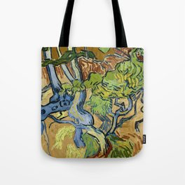 Tree Roots by Vincent van Gogh (July 1890) Tote Bag