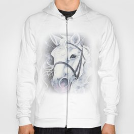 Pale White Horse Hoody