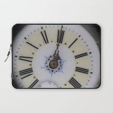 Portrait of an old watch face Laptop Sleeve