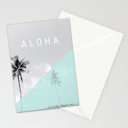 Island vibes retro - Aloha Stationery Cards