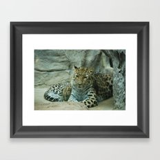 Mom and Baby Framed Art Print