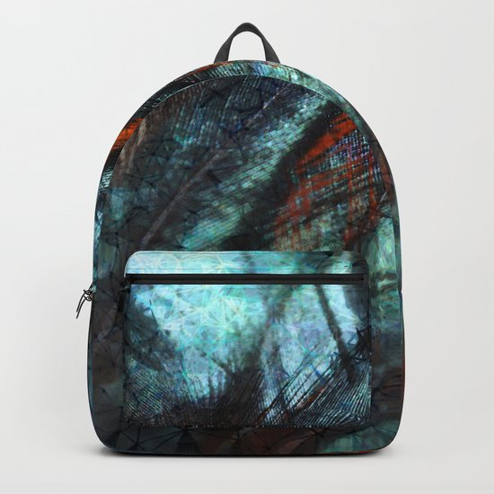 Fanciful Feathers Backpack