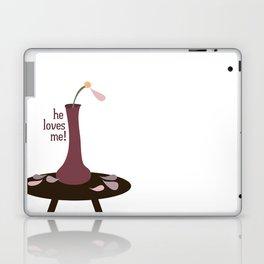 he loves me! Laptop & iPad Skin