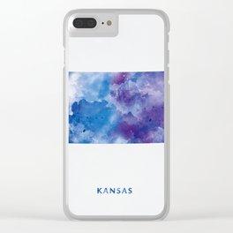 Kansas Clear iPhone Case