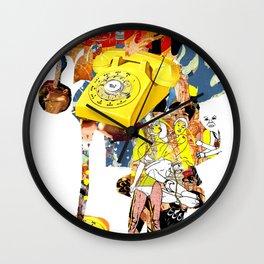 CutOuts - 9 Wall Clock