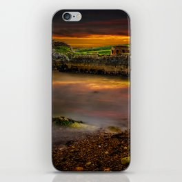 Porth Wen Brickworks Sunset iPhone Skin