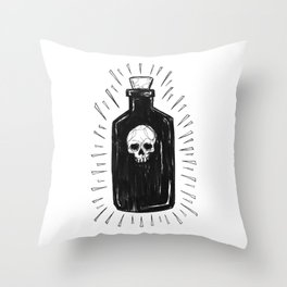 The Devil's Drink Throw Pillow