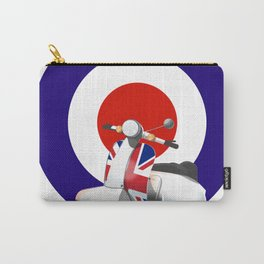Mod Moped poster Carry-All Pouch