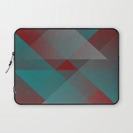 Teal burgundy shades Laptop Sleeve