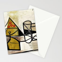 Pablo Picasso - Compotier and glassware - Digital Remastered Edition Stationery Cards