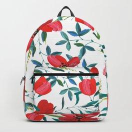 Red Blossom #society6 #decor #buyart Backpack