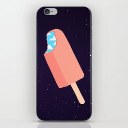 Creamsicle To Another Dimension... (inverted) iPhone Skin
